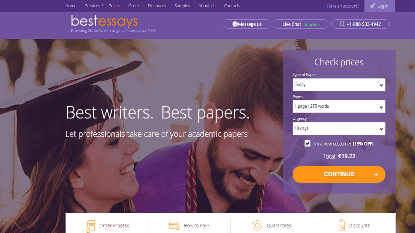 BestEssays.com Review