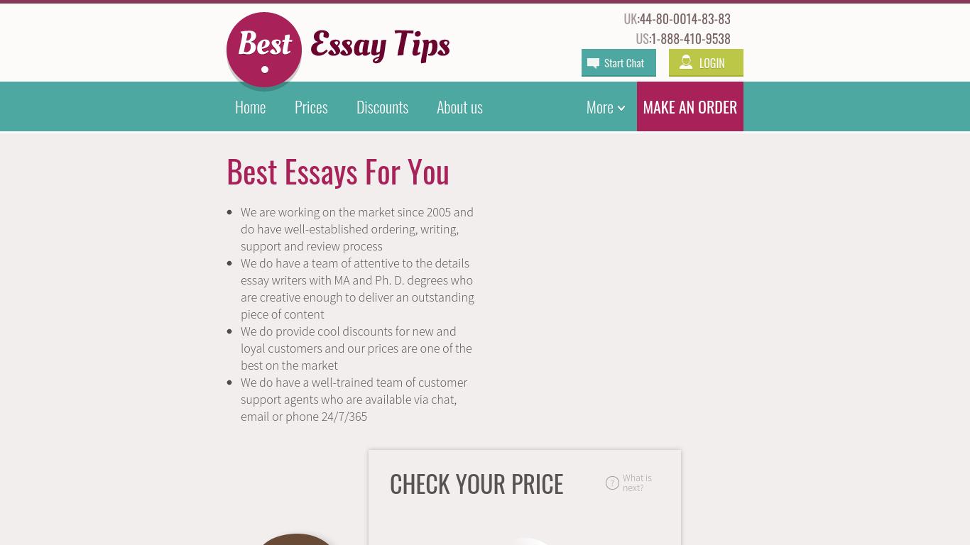 BestEssayTips.com Review